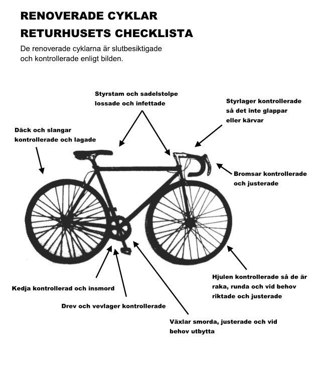 Populära Cykel - Returhuset Östra Göteborg - Göteborgs Stad DS-23